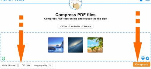 Compress PDF - 100% Free - PDF24 Tools
