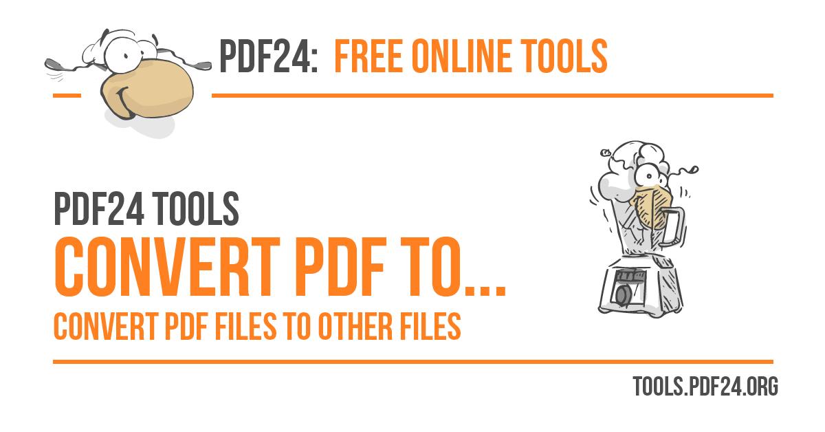 Pdf To Jpg Converter 100 Free Pdf24 Tools