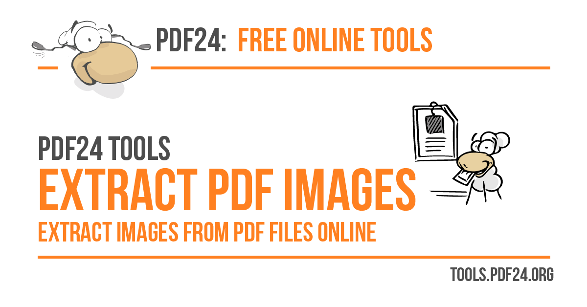 Extract images from PDF files - 100% free - PDF24 Tools